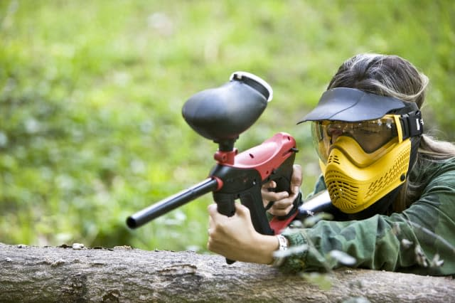 'Paintball player