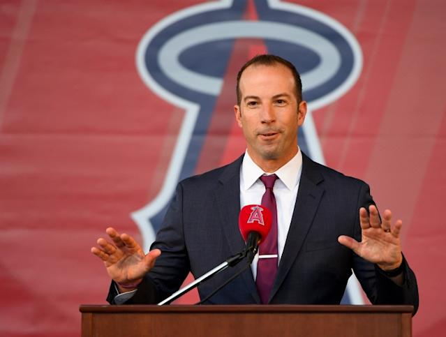 """Angels general manager Billy Eppler believes his players are staying mentally prepared for whenever the season might start. <span class=""""copyright"""">(Jayne Kamin-Oncea / Getty Images)</span>"""