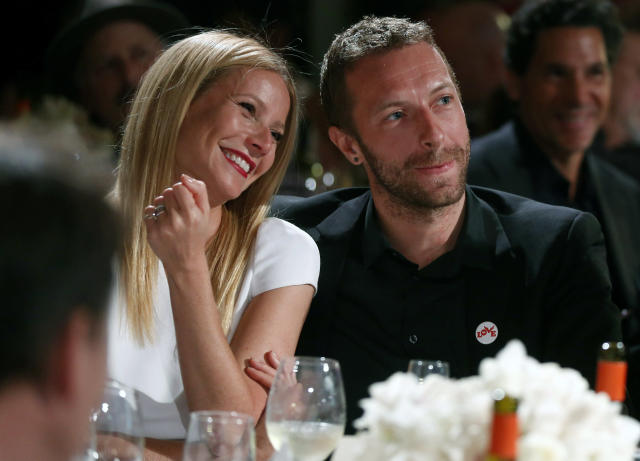 Chris Martin was married to Gwyneth Paltrow for 10 years (Credit: AP)