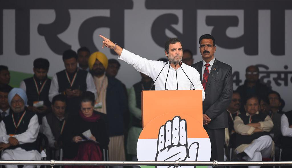 """I'm Rahul Gandhi, not Rahul Savarkar."" - Rahul Gandhi on BJP demanding apology for his 'Rape in India' remark."
