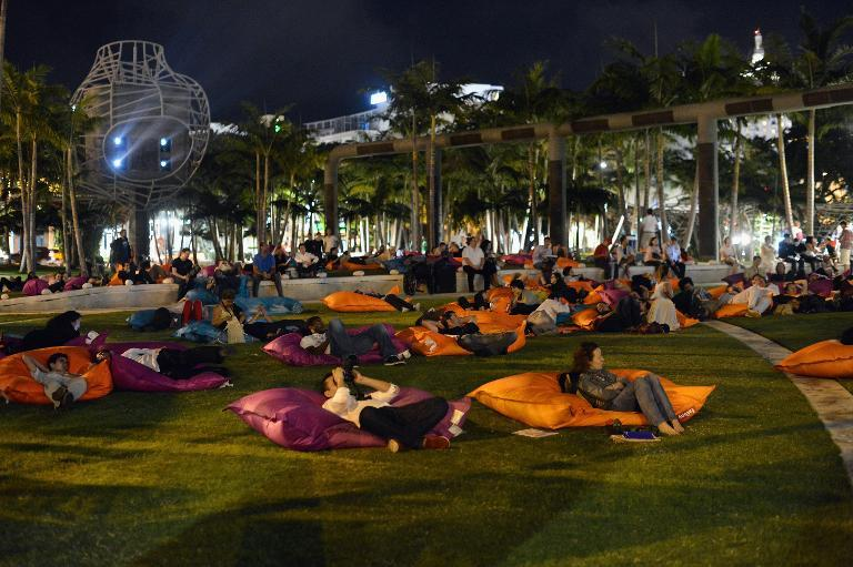A general view of atmosphere during Art Video at Art Basel Miami Beach 2012 on December 8, 2012 in Miami Beach, Florida