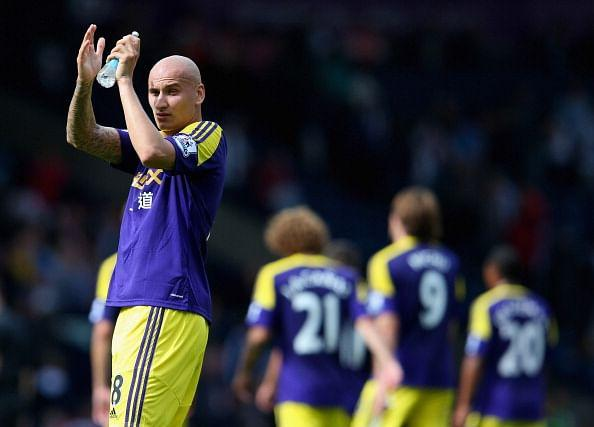 THE ONE THAT GOT AWAY: Shelvey left Liverpool for Swansea in order to get more playing time