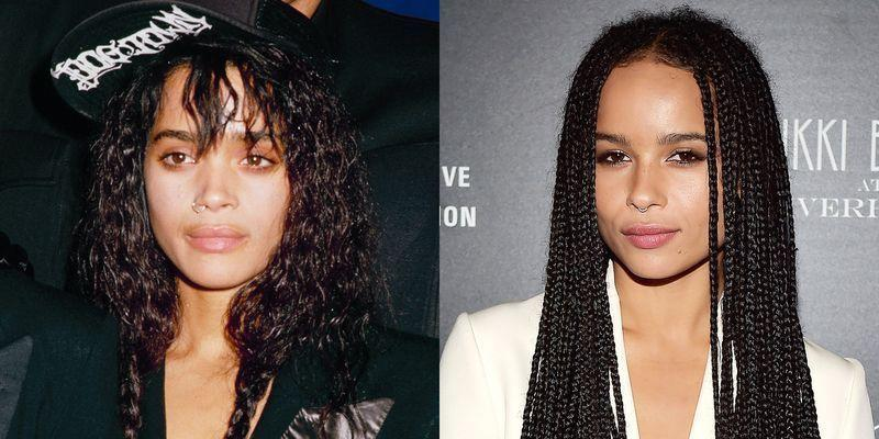 <p>Lisa Bonet's role as Denise Huxtable in <em>The Cosby Show </em>skyrocketed her to fame, and her relationship with Lenny Kravitz got her loads of attention too. Her daughter with Lenny, Zoë, worked hard to be viewed as a serious actress in her own right, most recently starring in the Hulu series <em>High Fidelity</em><em>. </em>(Bonet made an appearance in the original 2000 film of the same name!)</p>