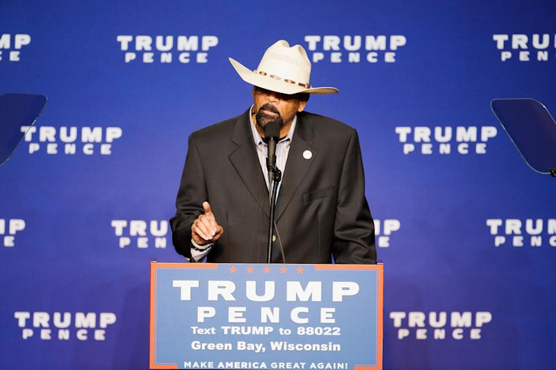'Only Donald Trump Cares About Black American Citizens,' Sheriff David Clarke says