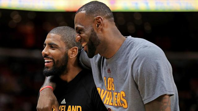 LeBron James may have wanted to trade Kyrie Irving before he asked to be moved but not after.