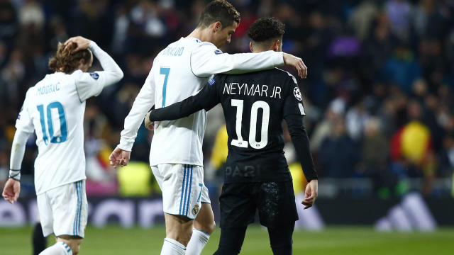 Neymar and Cristiano Ronaldo would get along very well, according to Real Madrid midfielder Casemiro.