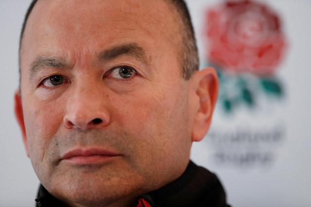 Rugby Union - England Press Conference - Pennyhill Park, Bagshot, Britain - February 22, 2018 England head coach Eddie Jones during the press conference Action Images via Reuters/Andrew Boyers