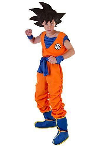 """<p><strong>Fun Costumes</strong></p><p>amazon.com</p><p><a href=""""https://www.amazon.com/dp/B00G1V0ZMU?tag=syn-yahoo-20&ascsubtag=%5Bartid%7C10070.g.22583902%5Bsrc%7Cyahoo-us"""" rel=""""nofollow noopener"""" target=""""_blank"""" data-ylk=""""slk:Shop Now"""" class=""""link rapid-noclick-resp"""">Shop Now</a></p><p>When you buy this costume, it comes with the suit, belt, boots, and wristbands. But if you really want to get the whole look, don't forget to buy the <a href=""""https://www.amazon.com/Fun-Costumes-Child-Goku-Wig/dp/B097F8GRN8?tag=syn-yahoo-20&ascsubtag=%5Bartid%7C10070.g.22583902%5Bsrc%7Cyahoo-us"""" rel=""""nofollow noopener"""" target=""""_blank"""" data-ylk=""""slk:Goku wig"""" class=""""link rapid-noclick-resp"""">Goku wig</a>!</p>"""