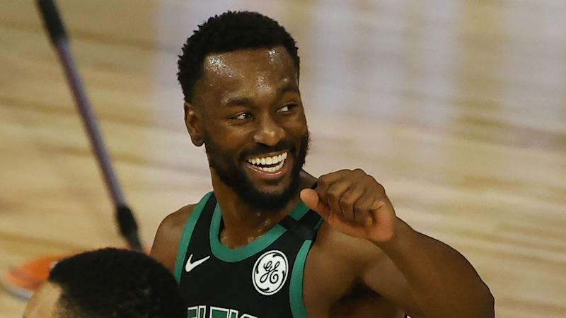 The Celtics are giving Kemba Walker the support he's always needed