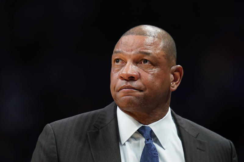76ers Rivers Hired Basketball