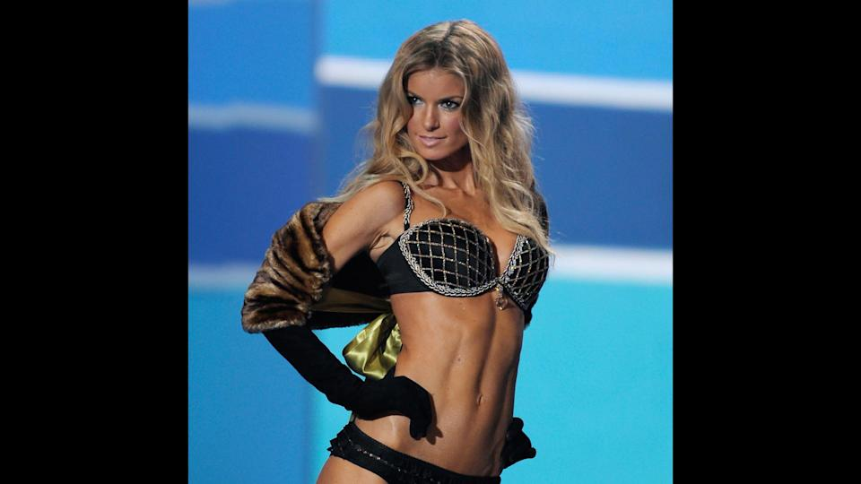 "<p>Marisa Miller first made her mark in the modeling world as a Sports Illustrated swimsuit model, and made her Victoria's Secret Fashion Show debut in 2007. She walked in the show for three years, and wore the Fantasy Bra in 2009 during her last show. Outside of her modeling career, Miller has made appearances on ""Entourage"" and ""How I Met Your Mother.""</p>"