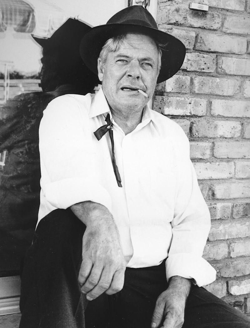 """FILE - A 1980 file photo provided by CBS shows actor William Windom as Amos Krebs in """"Dallas."""" Windom, who won an Emmy Award for his turn in the TV comedy series """"My World And Welcome To It,"""" died Thursday, Aug. 16, 2012 of congestive heart failure at his home in Woodacre, north of San Francisco. He was 88. (AP File Photo)"""