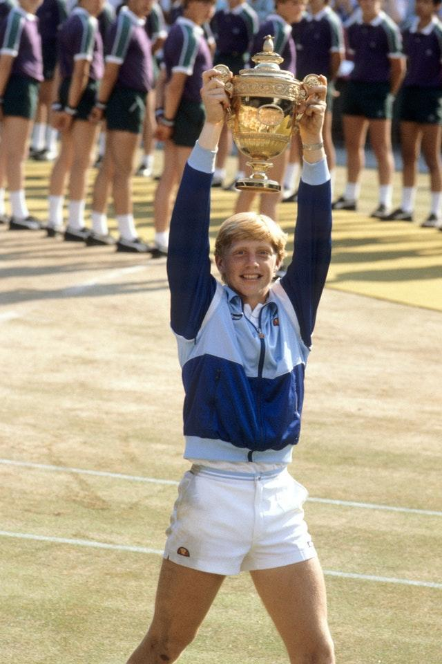 Boris Becker became the youngest ever Wimbledon champion at the age of 17 in 1985