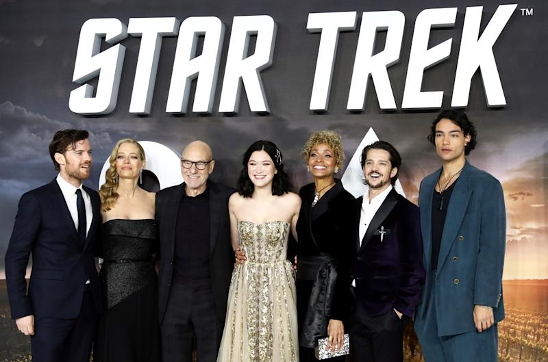 'Star Trek' return 'irresistible,' says Patrick Stewart at new series premiere