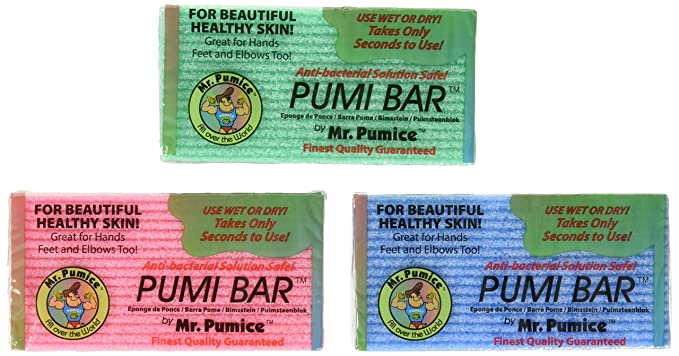 """<h3>Mr. Pumice Callus Remover Pumi Bar</h3><br><strong>Sarah </strong><br><br>""""I bought these once at a Bed Bath & Beyond, but they were always sold out when I went to buy more. So of course, had to go to Amazon! They are inexpensive and super effective. I'll never use anything else.""""<br><br><strong>Mr. Pumice</strong> Callus Remover Pumi Bar (4-Pack), $, available at <a href=""""https://amzn.to/3iMUUoT"""" rel=""""nofollow noopener"""" target=""""_blank"""" data-ylk=""""slk:Amazon"""" class=""""link rapid-noclick-resp"""">Amazon</a>"""