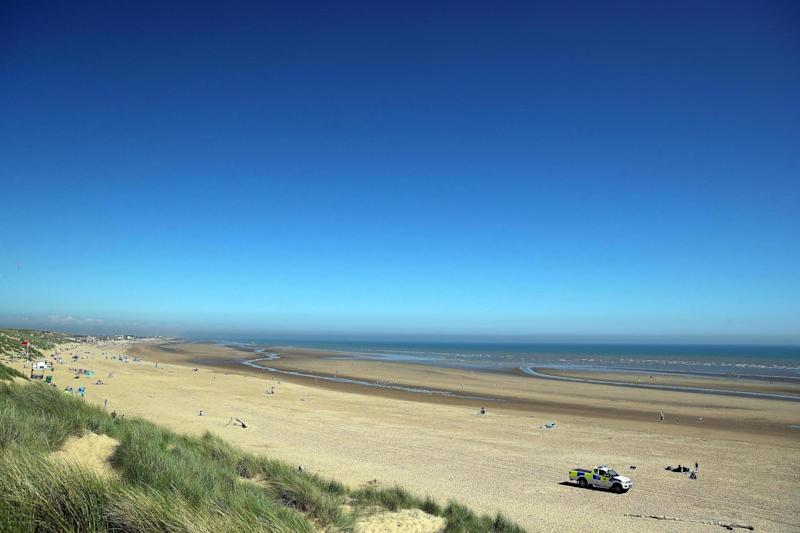 Camber Sands, near where the fake earthquake took place: Getty Images
