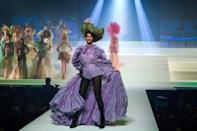 From the start, Gaultier challenged gender stereotypes and conventional ideas of beauty