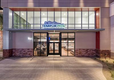 Tempur Sealy International, Inc. announced the opening of its 25th Tempur-Pedic flagship retail store during 2018. The store pictured is in Las Vegas.