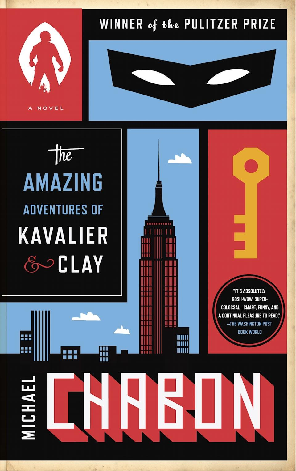 """""""The Amazing Adventures of Kavalier and Clay"""" won the Pulitzer Prize."""