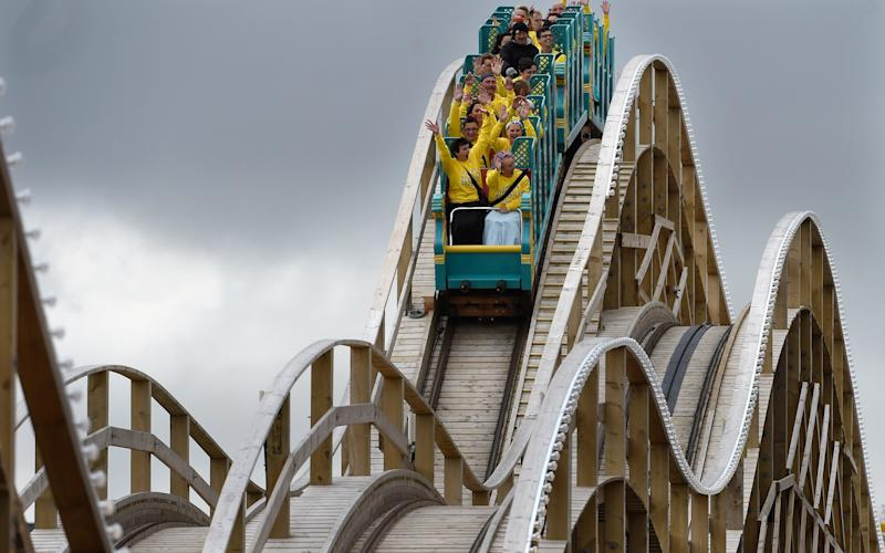 Rollercoaster - Credit: Julian Simmonds