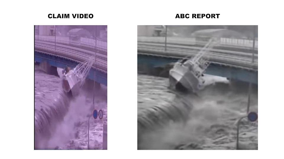 """<div class=""""paragraphs""""><p>The report carries the same visuals as the video in the claim.</p></div>"""