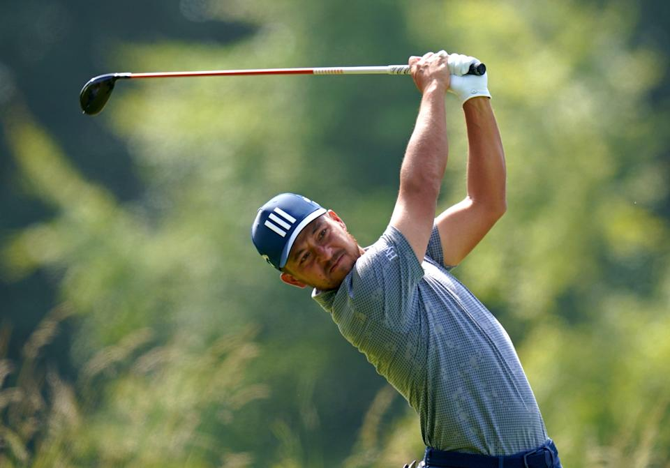 Xander Schauffele of the United States is atop the leaderboard at the halfway stage (Jane Barlow/PA) (PA Wire)