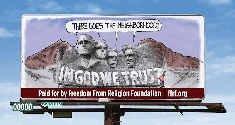 Billboards will be going up in Sioux Falls, Rapid City and Pierre protesting the new state law requiring