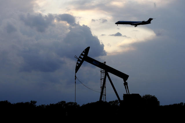Plummeting demand for oil due to worldwide COVID-19 lockdowns have caused a supply glut. (Sue Ogrocki/AP Photo)