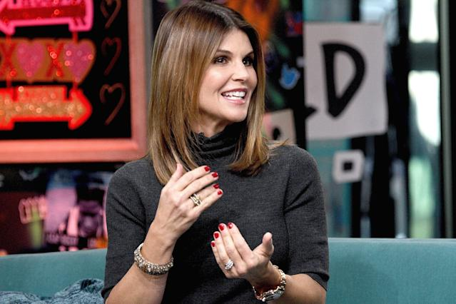 Actress Lori Loughlin is among those charged in a widespread cheating scheme. (Photo by Gary Gershoff/Getty Images)