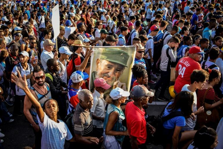The May Day rally in communist Cuba is unusual in being a march in support of the authorities