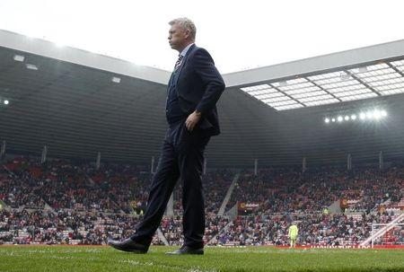 Britain Football Soccer - Sunderland v AFC Bournemouth - Premier League - Stadium of Light - 29/4/17 Sunderland manager David Moyes looks on Action Images via Reuters / Lee Smith Livepic