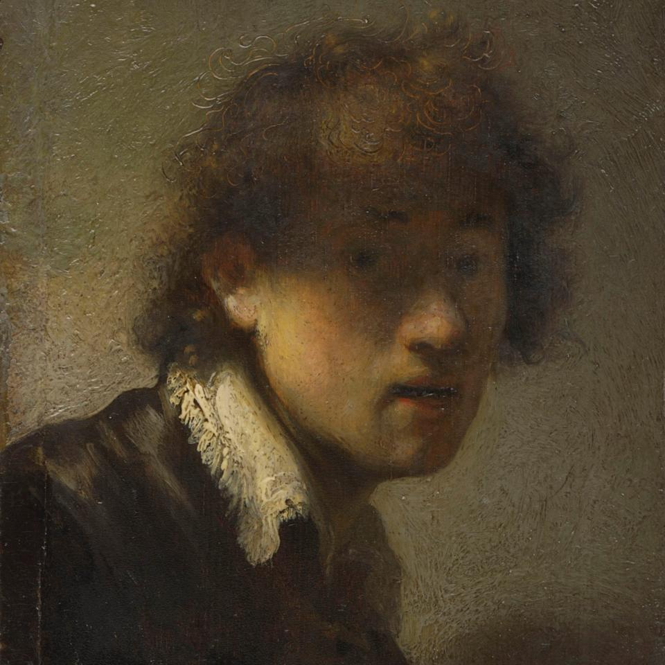Rembrandt's 1629 self-portrait features in the Ashmolean exhibition Young Rembrandt - Bavarian State Painting Collections