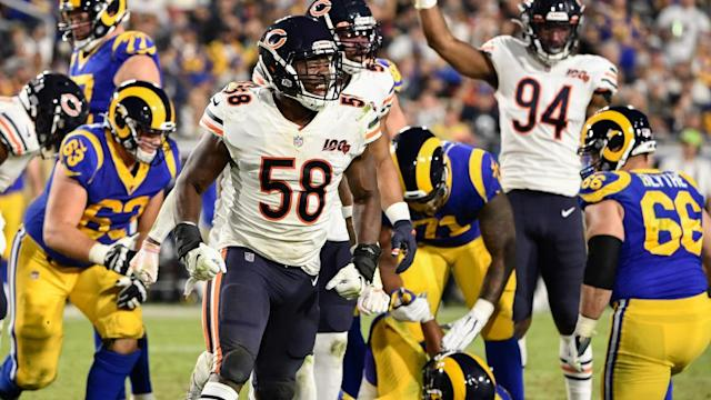 Bears get strong showing from LB Roquan Smith vs. Rams