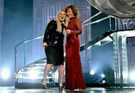 <p>Annnd in case you didn't know, Kelly Clarkson's mother-in-law is singer Reba McEntire. She married Reba's son Brandon Blackstock in 2013. (Though the couple recently filed for divorce.)</p>
