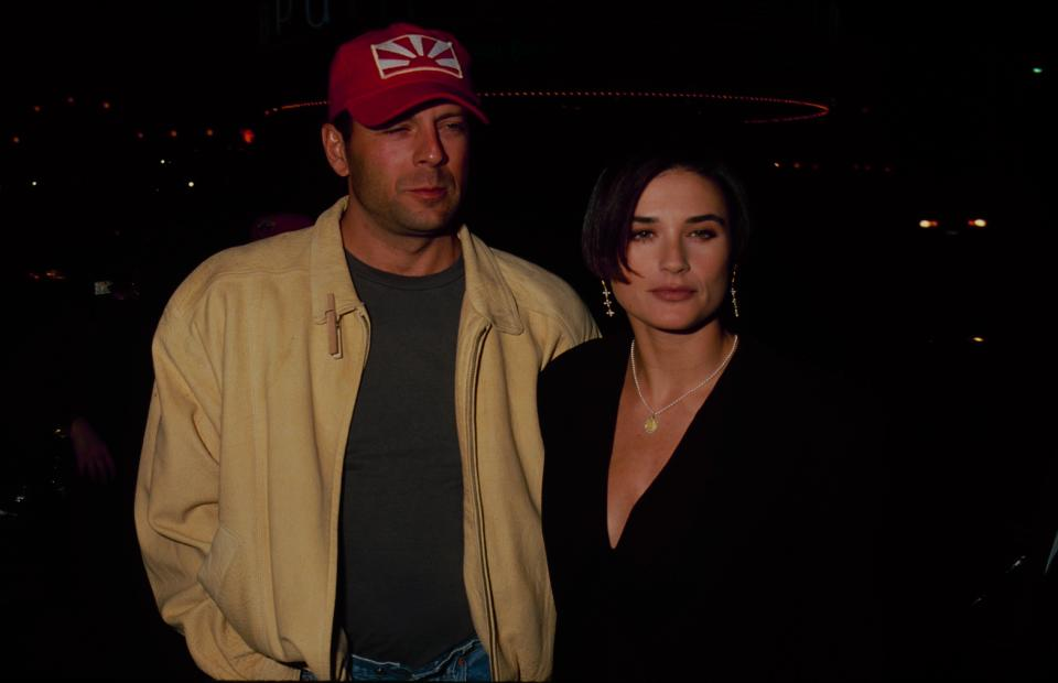Bruce Willis y Demi Moore. (Foto: The LIFE Picture Collection / Getty Images)