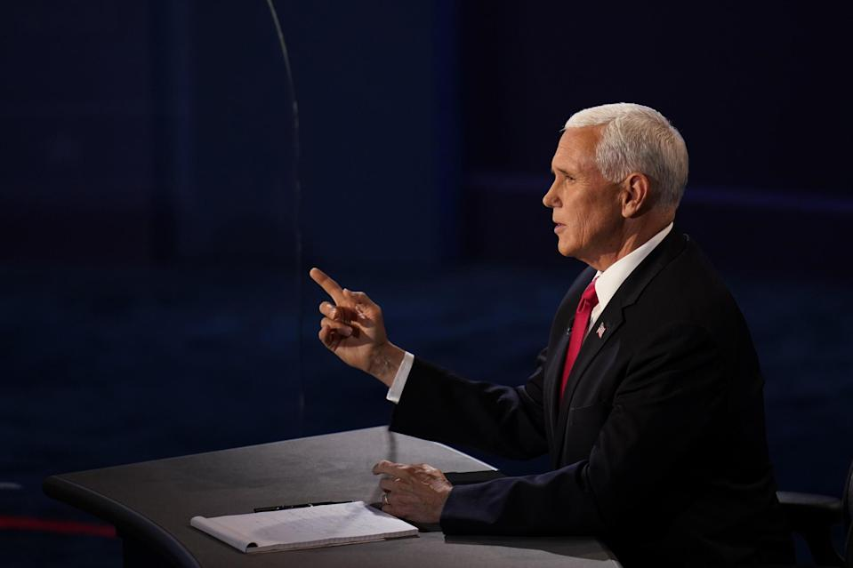 Mike Pence promised a Covid-19 treatemtn for millions of Americans (AP)