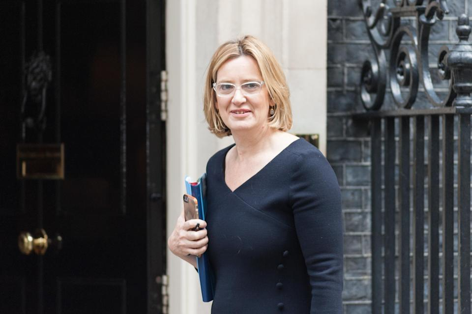 """Amber Rudd has said """"real people"""" do not want secure end-to-end encryption on messaging services."""
