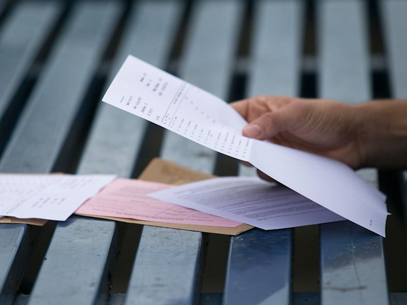 Students whose key-subject grades are below C face resits: Getty