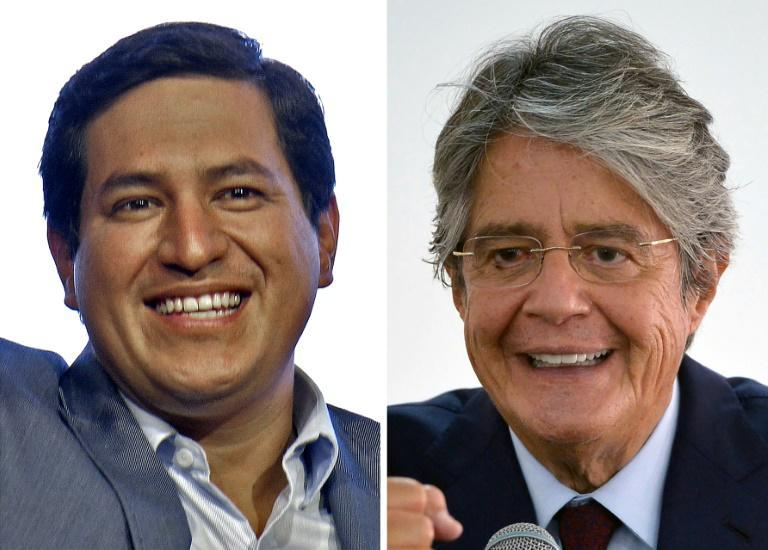 Ecuadorans must choose between Andres Arauz (left) and Guillermo Lasso to be their next president, but environmentalists are not impressed