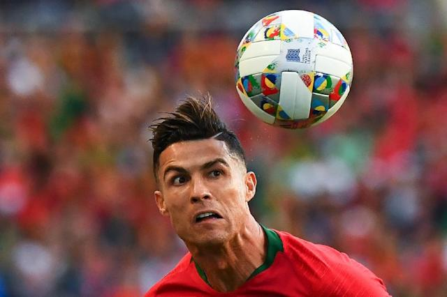 Cristiano Ronaldo has strongly denied the accusations against him, insisting the encounter was consensual (AFP Photo/GABRIEL BOUYS )