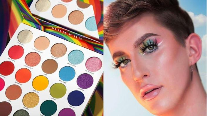 Morphe has a lot of color options to help you play with your look.