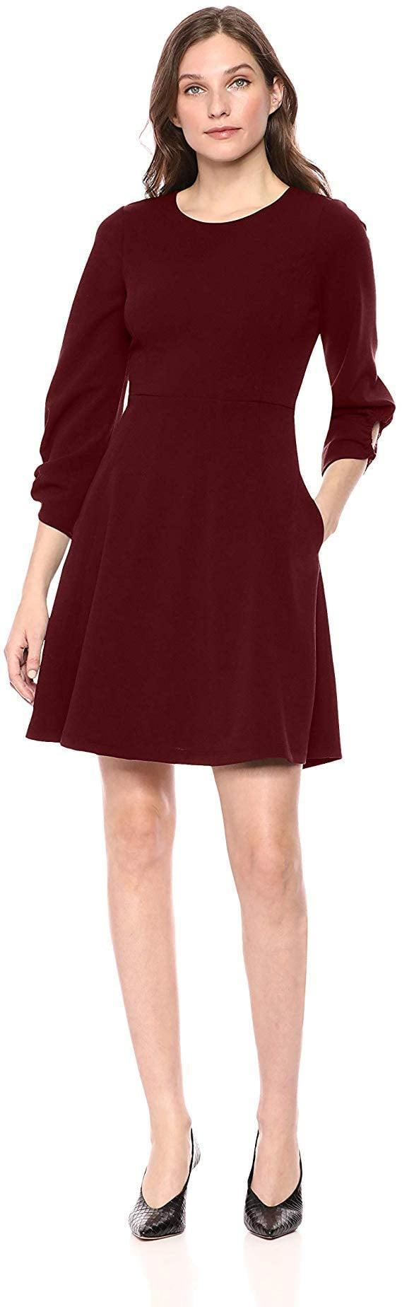 <p>We love that this <span>Lark & Ro Fit and Flare Dress </span> ($49) has pockets.</p>