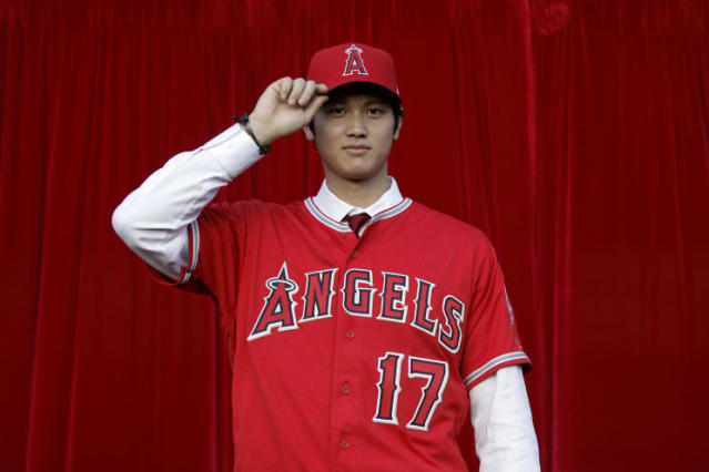 What role will Shohei Ohtani play in the Angels season opener. (AP)