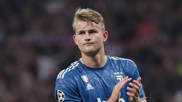 """Juventus face a tough title challenge from Inter but are intent on winning """"everything"""", according to Matthijs de Ligt."""