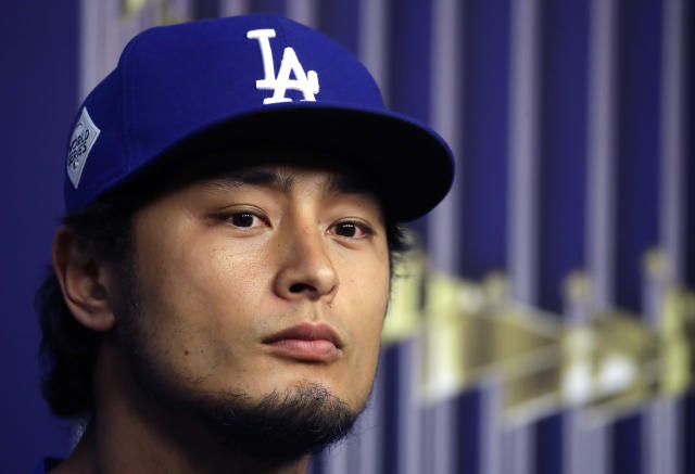 Yu Darvish wants people to learn from Yuli Gurriel's racial gesture. (AP Photo)