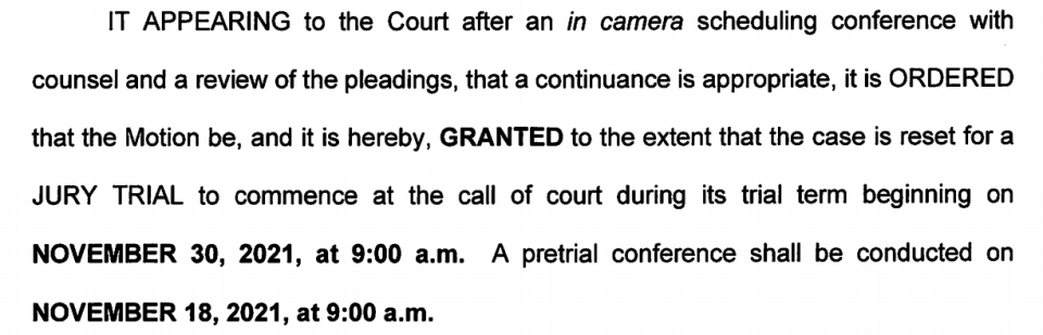 Joshua Duggar's trial won't star in July, as planned. It has been pushed to November to give his legal team more time to prepare. (Screenshot: United States District Court for the Western District of Arkansas)