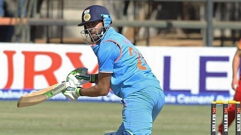 Faiz Fazal scored a half-century in the solitary ODI he has played for India