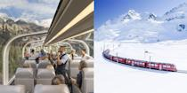 """<p>With more travellers choosing trains over planes these days, we thought we'd take a look at the incredible railway experiences on our wish list for a 2022 train holiday.</p><p>Proving that trains aren't just about getting you from A to B, the world's greatest rail holidays take in fantastic sites, picturesque towns and villages, and even amazing wildlife<br></p><p>Train holidays are ideal for a more relaxed way to travel as you take in a destination at a slower pace - unless you opt for <a href=""""https://www.goodhousekeeping.com/uk/lifestyle/travel/a28975916/best-time-visit-japan/"""" rel=""""nofollow noopener"""" target=""""_blank"""" data-ylk=""""slk:Japan"""" class=""""link rapid-noclick-resp"""">Japan</a>'s epic bullet trains, that is.</p><p>We all know that rail travel provides a more eco-friendly and often more affordable way of getting around but you don't have to compromise on style and luxury when you travel by train. </p><p>Plus, with safety measures in place on the greatest train holidays, from the <a href=""""https://www.goodhousekeeping.com/uk/lifestyle/travel/a33642336/harry-potter-train-scotland/"""" rel=""""nofollow noopener"""" target=""""_blank"""" data-ylk=""""slk:Jacobite"""" class=""""link rapid-noclick-resp"""">Jacobite</a> to the <a href=""""https://www.goodhousekeeping.com/uk/lifestyle/travel/a27311311/bernina-express/"""" rel=""""nofollow noopener"""" target=""""_blank"""" data-ylk=""""slk:Bernina Express"""" class=""""link rapid-noclick-resp"""">Bernina Express</a>, you can rest assured that you'll be taken care of during the pandemic.</p><p>To show you why 2022 is the year we're hoping to climb aboard and celebrate the beauty of rail holidays, we've picked the very best train journeys in the UK and rest of the world.</p><p>Whether you're looking for Swiss train holidays in summer or winter, or far-flung adventures by rail, you'll love our dreamy bucket list of escapes.</p><p>Check out the best train holidays, from steam train rides in <a href=""""https://www.goodhousekeeping.com/uk/lifestyle/travel/a29483104/best-uk-holidays/"""