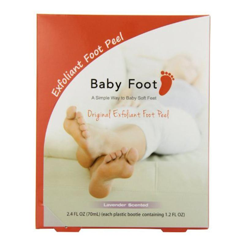 Baby Foot Lavender Easy Pack Exfoliant Foot Peel. (Photo: Walmart)