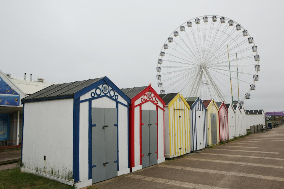Great Yarmouth's Giant Wheel – or the Yarmouth Eye (Johnny Green/PA)